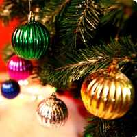 6pcs Christmas Xmas Tree Hanging Ball Baubles Watermelon Shape Christmas Decoration
