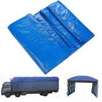 Waterproof Cover Tarpaulin Groundsheet Camping Light Weight Tarp for Car Outdooors