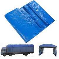 Waterproof Cover Tarpaulin Groundsheet Camping Light Weight Tarp for Car Outdooors