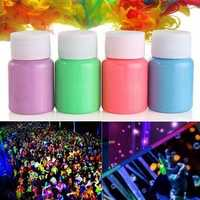 Halloween Party Face Body Noctilucence Glowing Liquid Non-toxic Dye Painting Fluid Makeup Tools
