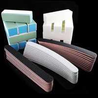 50PCS Nail Art Sanding Files Block Buffer Pedicure Paper Foam Manicure Tool