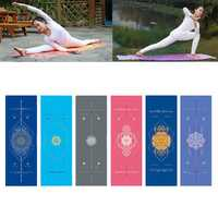 KALOAD Microfiber Yoga Towel Double Sides Rhombus Non-slip Super Sweat Absorbent Anti-bacterial Fitness Yoga Mats