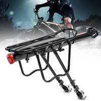 BIKIGHT Aluminum Alloy Bike Bicycle Rear Rack Bracket 50KG Load Quick Release Cycling Luggage Rack