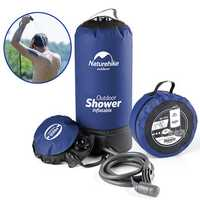 Naturehike NH17L101-D 11L Camp Water Shower Bag Portable Inflatable Bath Pack Car Washing Pressure Faucet
