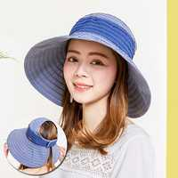 Women Foldable Summer Outdoor Bucket Hat