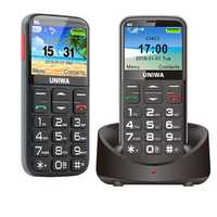 UNIWA V808G 3G Network 2.31 inch 1400mAh bluetooth Torch FM One Key SOS Feature Phone