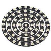 1PC 8PCS 12PCS 16PCS 24PCS Round Shape WS2812B SMD5050 RGBW RGBWW 4 In 1 LED Light Chip Board DC5V