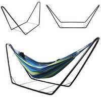 One Person Outdoor Hammocks Iron Stand 280 x 78 x 123cm