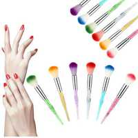1Pc Colorful UV Gel Nail Art Builder Brush Pen Design