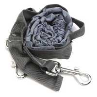 Polyester Elastic Pet Dog Leash Lead Strap Rope Waist Belt