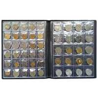 250 Coin Holder Collection Storage Collecting Money Penny Pockets Album Book Decor Gifts
