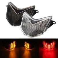 Motorcycle LED Integrated Brake Tail Light For Kawasaki Ninja ZX6RR ZX6R 636 2005 2006