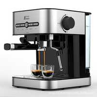 FXUNSHI MD-2009 1.4L 950W Semiautomatic Espresso Milk Bubble Maker Italian Coffee Machine
