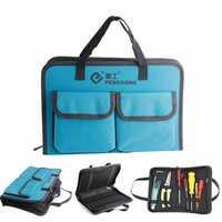 PENGGONG Tool Bag 310*210*50mm Waterproof Electrician Tool Bag Oxford Canvas Handbag Organizer Tools