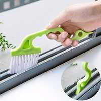 Multi-function Window Groove Cleaning Brush Keyboard Nook Cranny Dust Shovel Window Track Cleaning Tools