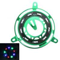GY6 125cc 150cc 152cc LED Light Cooling Fan Cover Motorcycle Scooter Engine Frame Decoration