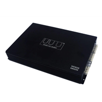 DC 12V Wudi 6800 Watt 4-Channel Car Power Amplifier
