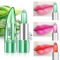 1Pc Aloe Temperature Jelly Lipstick