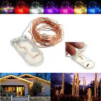 2M Waterproof LED Battery Mini LED Copper Wire Fairy String Light HoliDay Light Party Christmas