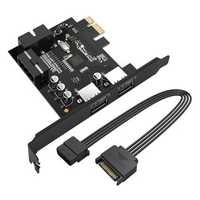 Orico PVU3-2O2I-V1 2-Port USB3.0 PCI-E Expansion Card