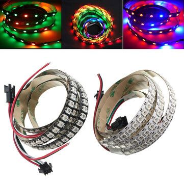 1M WS2812B 5050 RGB Changeable LED Strip Light 144 Leds Non waterproof Individual Addressable 5V