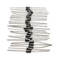 300pcs 8 Types IN4148 IN4007 IN5819 IN5399 FR107 FR207 Commonly Used Diode Electronic Component Pack