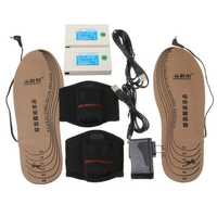 Rechargeable Powered Heated Insole Shoes Pad Foot Winter Warmer WS-SE330LA