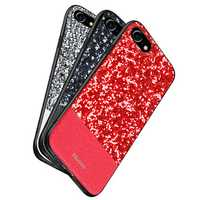 DZGOGO Diamond Bling PU Leather Protective Case for iPhone 7/8