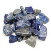 50g Blue Lapis Lazuli Rough Stone Rock Specimen Home Decoration Craft