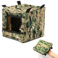 Foldable Slingshot Target Box Recycle Ammo Hunting Catapult For Practice