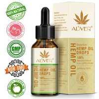 30ml Hemp Seed Essential Oil Reduce Stress Pain Relief Sleep