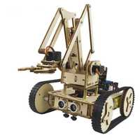 LOBOT Micro:bit Armbit Smart RC Robot Car Arm Robot Graphic 3 Modeling APP Control