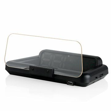 C500 Car HUD Head Up Display Car Speedometer Projector Overspeed Warning Multidata Display