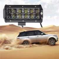 60W 12 Leds Light Bar Floodlight/Spot Lightt Work Light ATV Off Road Driving Lamp DC10-30V