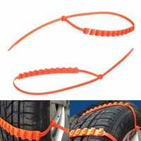 Anti Skid Chains for Automobiales Snow Mud Wheel Tyre Car/Truck Tire Cable Ties