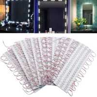 200PCS SMD5730 White LED Module Strip Light Front Lamp for Window Store Waterproof DC12V