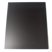 200X250mm 3K Carbon Fiber Board Carbon Fiber Plate Twill Weave Matte Panel Sheet 0.5-5mm Thickness