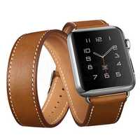 Genuine Leather Watch Band Strap Replacement For Apple Watch Series 1 38mm
