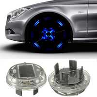 Solar Energy LED Car Wheel Tire Rim Flash Light Decoration Lamp 4 Flashing Modes