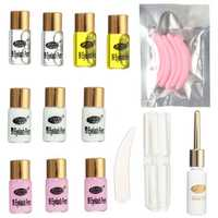 Longer Eyelashes Curling Curler Perming Wave Rod Glue Long Eyelash Lash Perm Kit Sets Eye Makeup