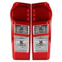 Car LED Tail Light Brake Lamp Red Shell with Bulb Left/Right for Isuzu Dmax Yukon Utah 2012-2018