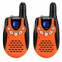 2pcs Retevis RT602 22 Channels 462-467MHz Kids Mini Handheld Two Way Radio Walkie Talkie With Charger