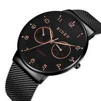 BIDEN BD0047 Ultra Thin Casual Style Week Display Men Watch