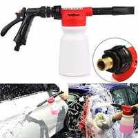 900ML Car Cleaning Washing Foam Tool Gun Water Soap Shampoo Sprayer Washer Bottle