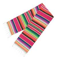 5pcs Mexican Blanket Table Flag Picnic Mat Travel Blanket Outdoor Beach Towel Car Blanket