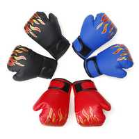 Children Boxing Gloves Sport Training Gloves Sandbag Gym Gloves Kids Sanda Equipments