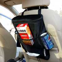 Multifunctional Car Travel Seat Back Drink Storage Color Insulation Bag Multi Pocket