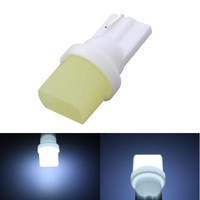 Ceramic 12V LED T10 194 COB W5W Car Interior Reading Light Lamp Side Light Bulb For Toyota Honda