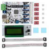 Geeetech® 3D Printer Motherboard GT2560 + A4988 Driver + LCD2004 Kit