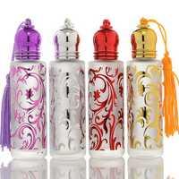 10ml Matte Glass Perfume Refillable Bottle Essential Oil